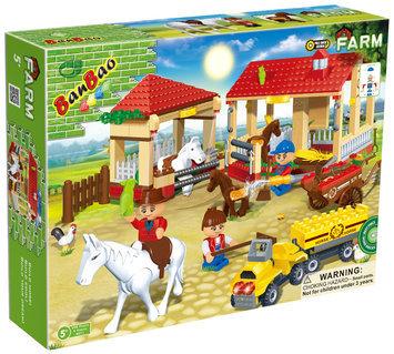 BanBao Horse Stables( 338 pcs)
