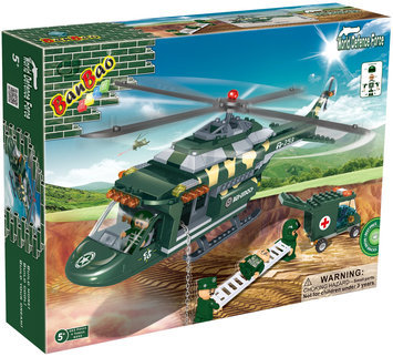 BanBao Medical Helicopter(263 pcs) - 1 ct.