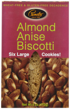 Pamela's Products Almond Anise Biscotti - 6 oz
