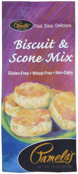 Pamela's Products Biscuit and Scone Mix Gluten Free - 13 oz