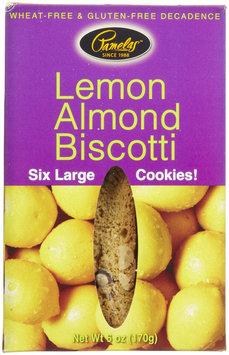 Pamela's Products Lemon Almond Biscotti, 6 oz