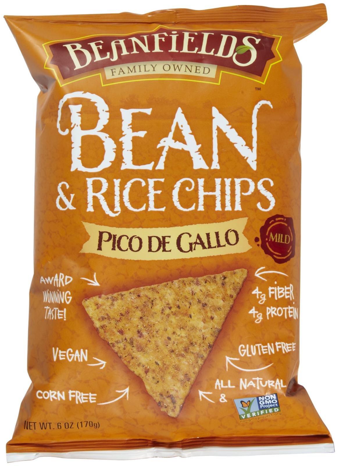 Beanfields Bean & Rice Chips - Pico De Gallo