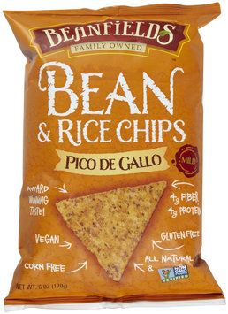 Beanfields Bean & Rice Chips - Pico De Gallo