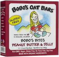 BoboS Oat Bars Bites-Pb & J/Gf 6.75 Oz (Pack of 6)