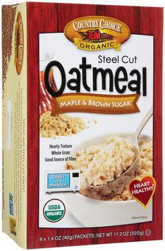 Country Choice Steel Cut Oatmeal - Maple Brown Sugar - 1.4 OZ - 8 ct