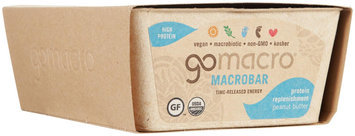 GO MACRO Macro Bars - Peanut Butter - 2.3 OZ - 1 ct.