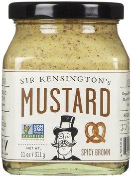 Sir Kensington's Mustard Spicy Brown 11 oz - Vegan