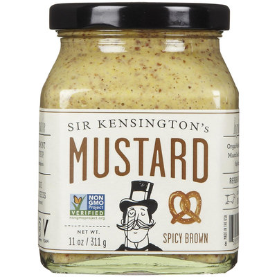 Sir Kensington's Mustard Spicy Brown 11 oz - Vegan