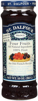 St. Dalfour Four Fruits Spread 10 oz