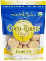 Wonderfully Raw Coco-Roons Organic Gluten Free Lemon Pie - Vegan