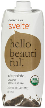 Cal Naturale - Svelte Vegan Organic Protein Drink 6 x 15.9 oz RTD Chocolate - 6 Pack LUCKY PRICE