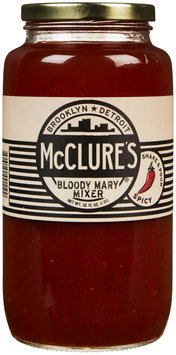 Mclures Of New England Pickles Bloody Mary Mixer 32 Oz - -Pack of 6