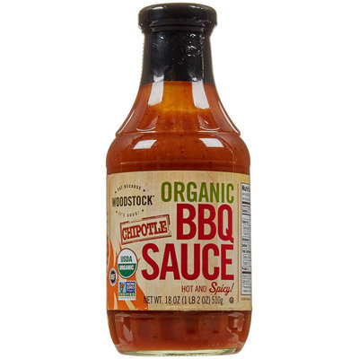 Woodstock Farms Organic BBQ Sauce Chipotle 18 oz