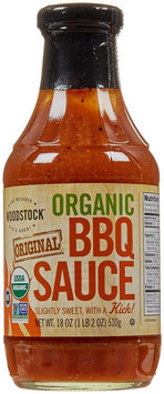 Woodstock Farms Organic BBQ Sauce Original 18 oz