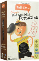 Tolerant Food Organic Black Bean Mini Fettuccine 12 oz - Vegan