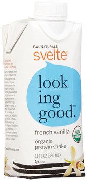 Cal Naturale - Svelte Vegan Organic Protein Shake 8 x 11 oz. RTD French Vanilla - 8 Pack