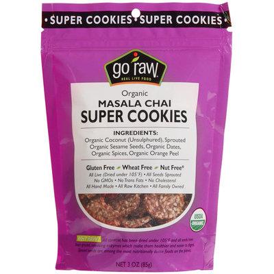 Go Raw - 100 Organic Super Cookies Masala Chai - 3 oz.