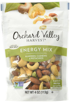 Orchard Valley Harvest TRAIL MIX, ENERGY, (Pack of 6)
