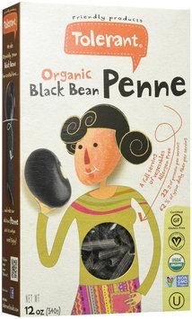 Tolerant Food Organic Black Bean Penne 12 oz - Vegan