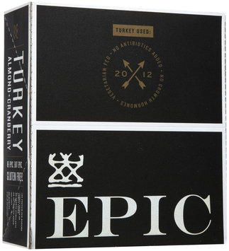 Epic Bar Bars Turkey Almond Cranberry, 12 Pack