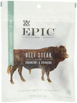Epic Nutrition Jerky Bites Beef Cranberry Sriracha 2.5 oz