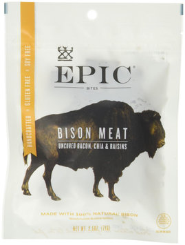 Epic Nutrition Jerky Bites Bison + Uncured Bacon + Chia 2.5 oz