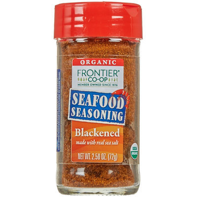 Frontier Natural Products Organic Seafood Seasoning Blackened - 2.5 oz