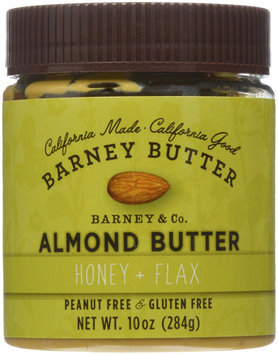 Barney Butter Almond Butter Honey and Flax 10 oz