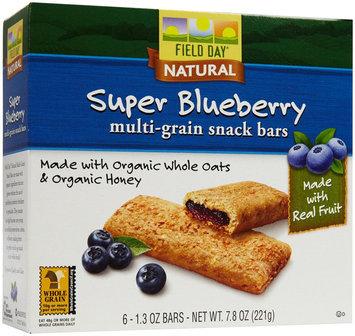 Field Day Cereal Bar Og3 Blueberry Fl 7.8 OZ (Pack of 6)