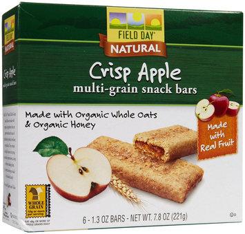 Field Day Cereal Bar Og3 Apple Fld 7.8 OZ (Pack of 6)