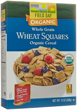 Field Day CEREAL, OG2, WHEAT SQRES, WG, (Pack of 10)
