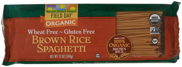 Field Day Pasta Organic Spaghetti Brown Rice 12 Oz. -Pack of 12