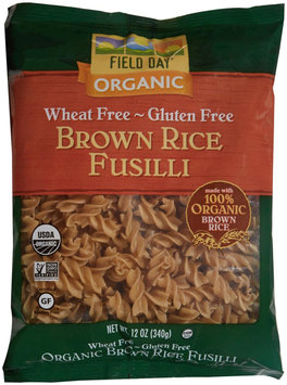 Field Day Pasta 100% organic Penne Br Rice 12 Oz (Pack of 12)