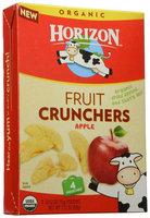 Horizon Organic Dairy Fruit Crunchers - Apple - 0.53 OZ - 4 ct