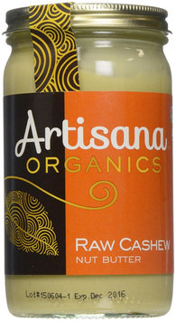 Artisana CASHEW BUTTER, OG2, RAW, (Pack of 6)