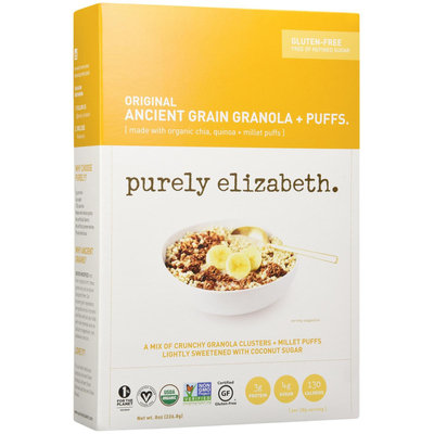 Purely Elizabeth Ancient Grains Granola + Puffs Cereal Original 8 oz