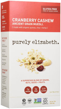 Purely Elizabeth - Organic Ancient Muesli Cranberry Cashew - 10 oz.