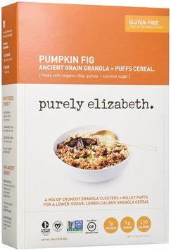 Purely Elizabeth - Organic Ancient Granola Cereal and Puffs Pumpkin Fig - 8 oz.