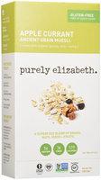 Purely Elizabeth - Organic Ancient Muesli Apple Currant - 10 oz.