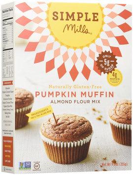 Simple Mills Almond Flour Muffin Mix Pumpkin Gluten Free (6x9Oz)