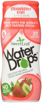 SweetLeaf Strawberry Kiwi Waterdrops, 2.16 Ounce