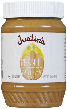 Justin`S Peanut Butter Honey 16 Oz -Pack of 6