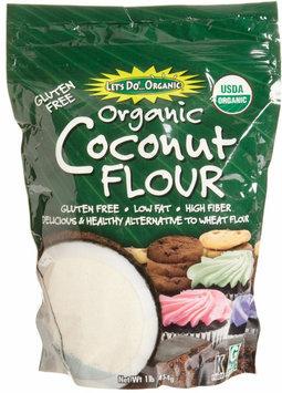Let's Do Organic Coconut Flour, 16 oz