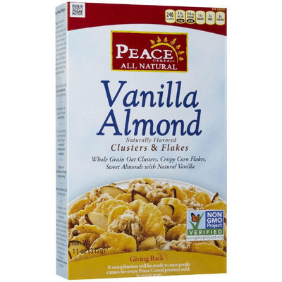 Peace Cereal Vanilla Almond Cereal, 11 oz