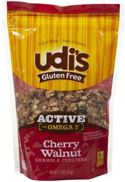 Udis Udi's Cherry Walnut Granola Clusters, 11 oz