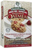 Glutenfreeda Strawberry and Brown Sugar with Flax (8x10.1 Oz)