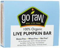 Go Raw Bars - Pumpkin - 0.458 oz - 10 ct