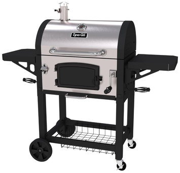 Dyna-glo Grilling Accessories. Heavy-Duty Stainless Charcoal Grill