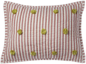 Pehr Designs Nursery Pillow Cover Pink/Green - 1 ct.