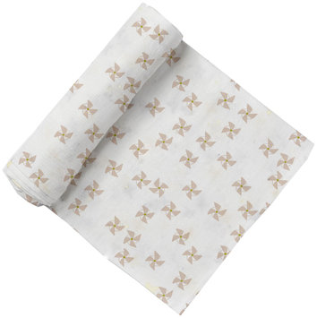 Pehr Designs Pinwheel Swaddle Light Pink/Citron - 1 ct.